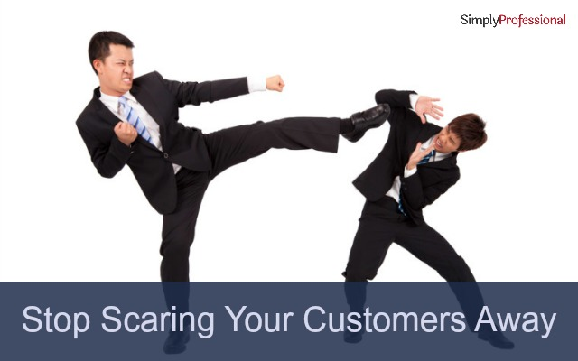Stop Scaring Your Customers Away! Seduce Them Into Buying Your Premium Services Instead